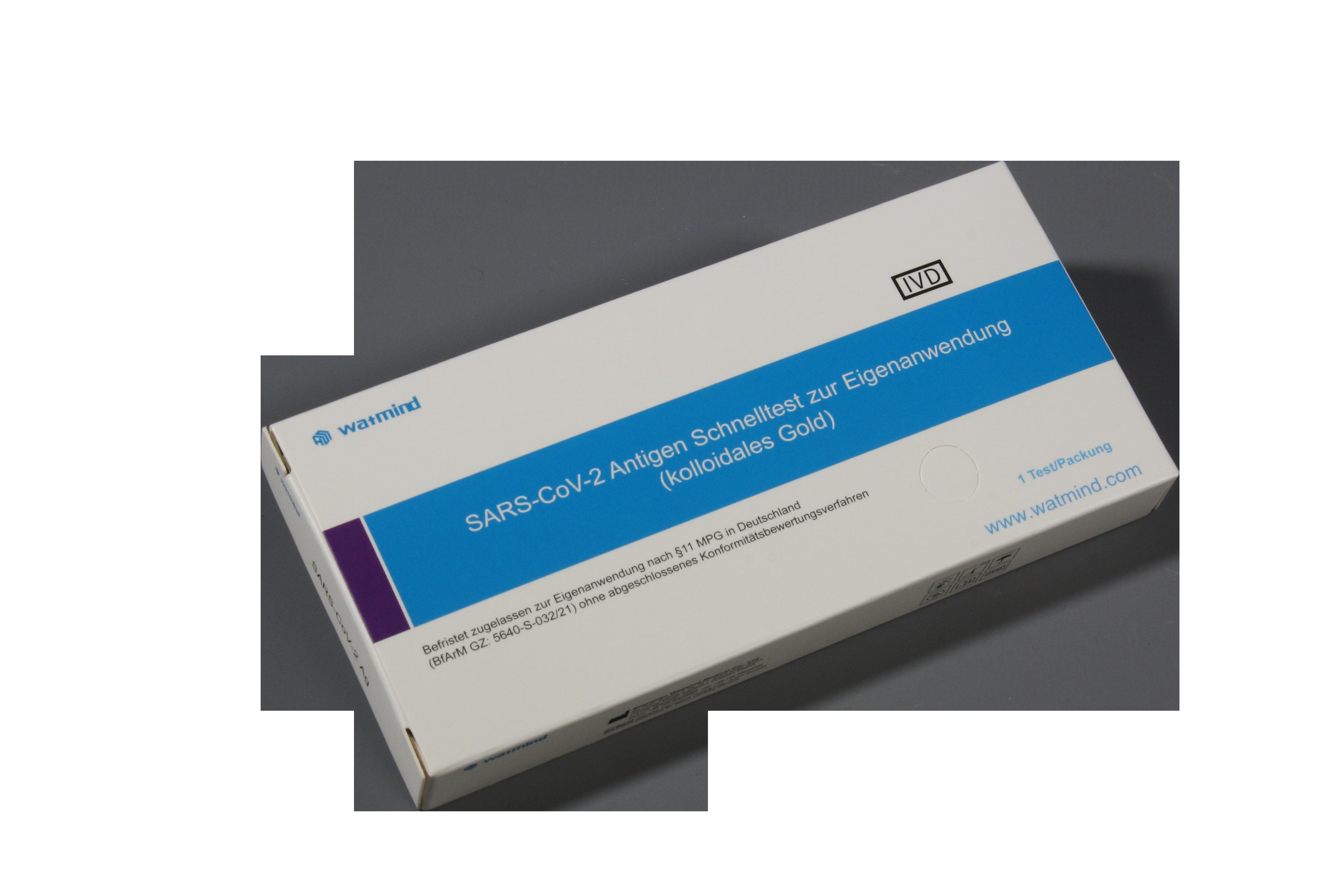 "Watmind SARS-CoV-2 Antigen Laientest ""Lolli-Test"" (1er Packung)"
