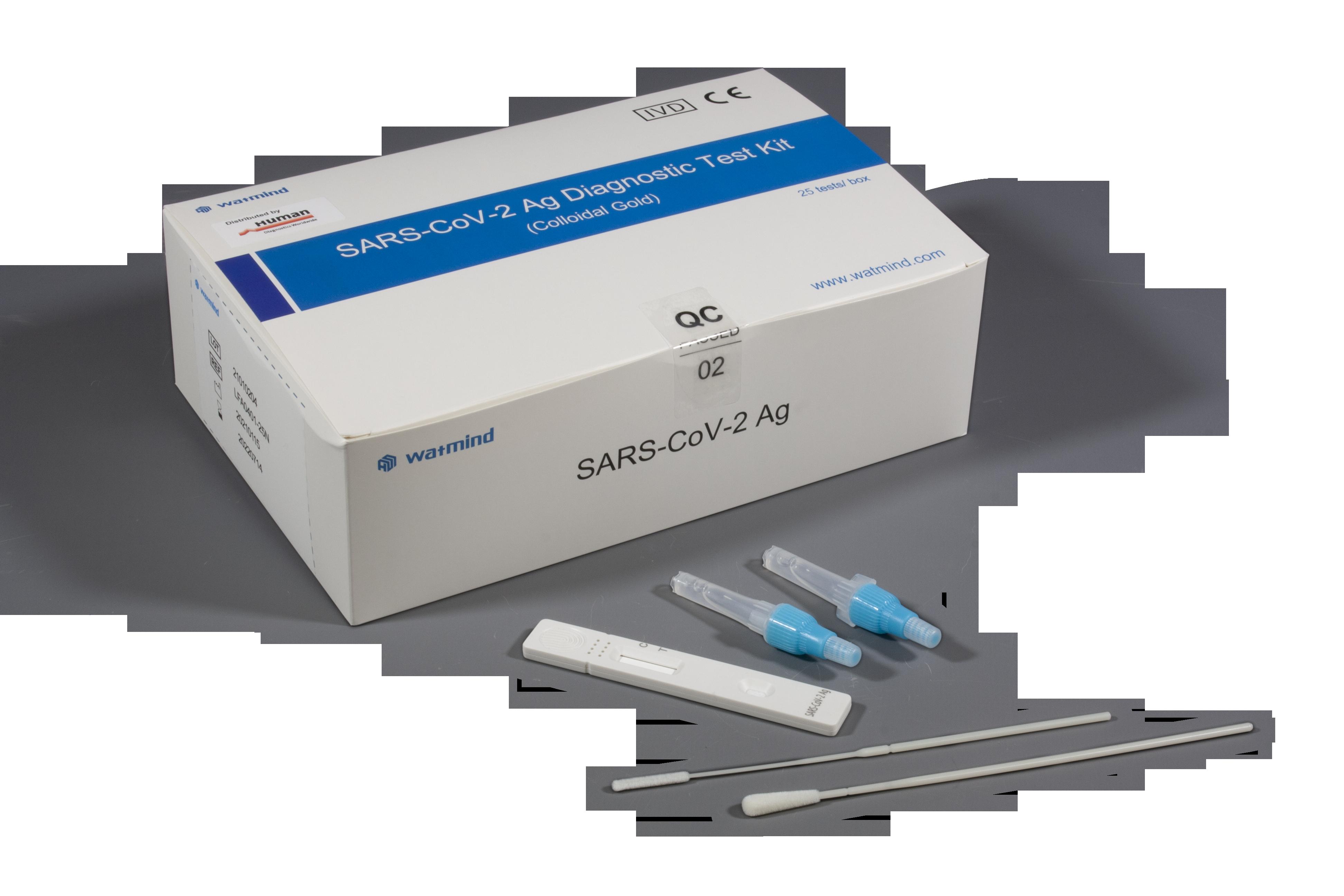 Watmind SARS-CoV-2 Antigen Schnelltest (Speichel)